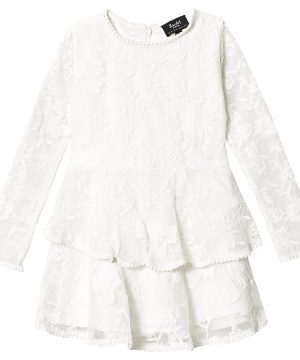 Bardot Junior Ember Lace Dress White 10 år