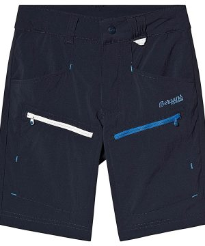 Bergans Utne Youth Shorts Dark Navy/Athens Blue 128 cm (7-8 år)