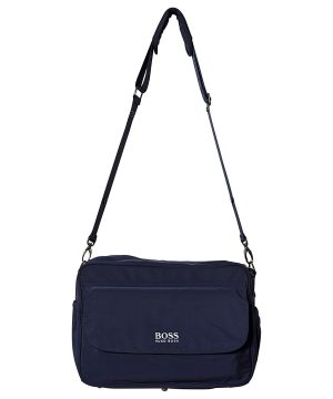 BOSS Navy Branded Changing Bag One Size
