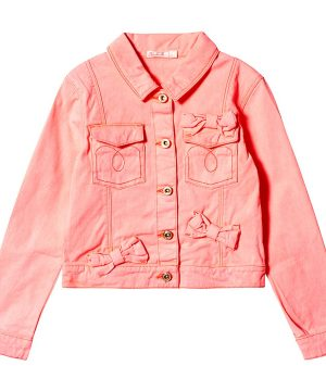 Billieblush Denim Jacka Hot Pink 12 år