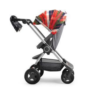 Stokke Scoot Winterkit Flanell Röd One Size