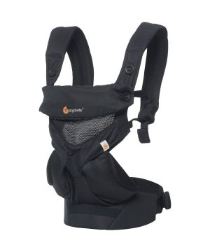 Ergobaby 360 Cool Air Bärsele Svart One Size
