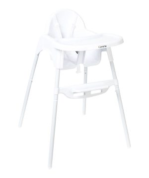 Carena Askö White Basic High Chair One Size