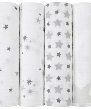 Aden + Anais 4-Pack Disney Twinkle Classic Swaddles One Size