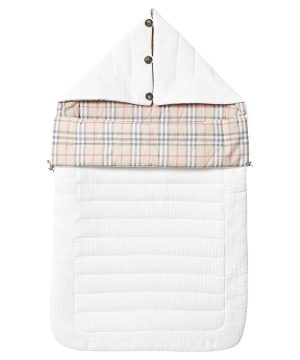 Burberry White Check Baby Nest 6-9 months