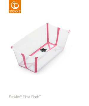 Stokke Flexi Bath® Transparent/Rosa One Size