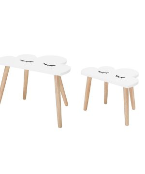 Bloomingville White Cloud Table One Size