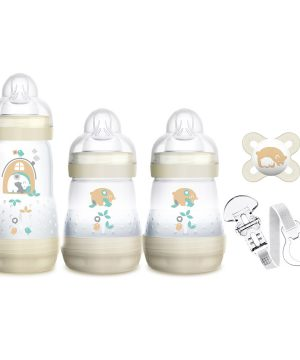 MAM Welcome to the World Baby Feeding Gift Set One Size