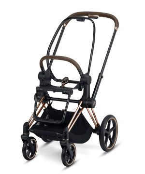 Cybex Priam Frame inclusive Seat Hardpart Rosegold One Size