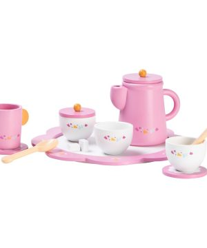 Wood Little Afternoon Tea Set Rosa One Size