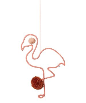 Liewood Odin Mobil Flamingo/Coral Rose One Size
