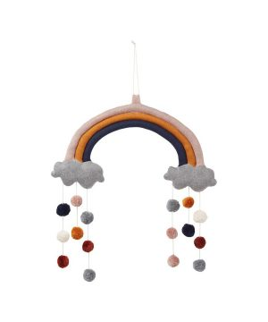 Liewood Judy Rainbow Mobil Rose Mix One Size