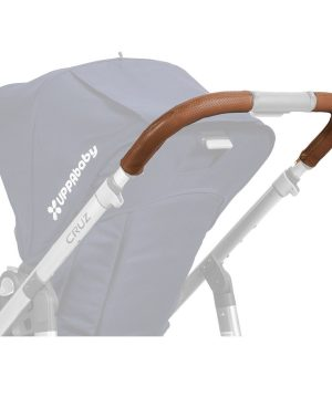 UPPAbaby Cruz Leather Handlebar Covers -Saddle One Size