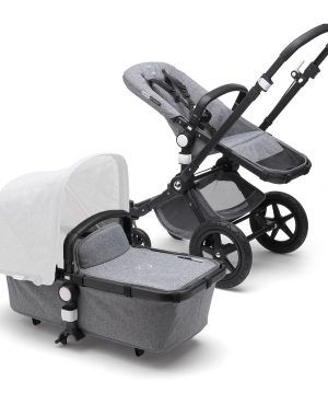 Bugaboo Bugaboo Cameleon3 Plus EMEA BLACK/GREY MEL One Size
