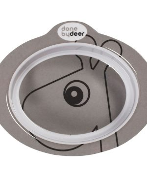 Done by Deer Anti-Slip Bowl Contour Grey One Size