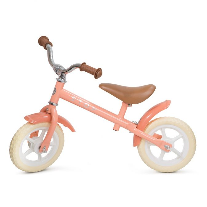 """STOY 10"""" Springcykel Vintage Peach One Size"""