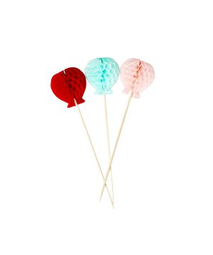 Rice 12-Pack Ballong Partypinnar One Size