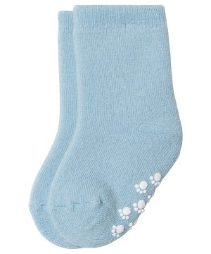 Joha Wool Sock Anti Slip Lightblue 15/18