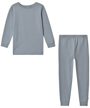 A Happy Brand Pyjamas Set Grå 110/116 cm