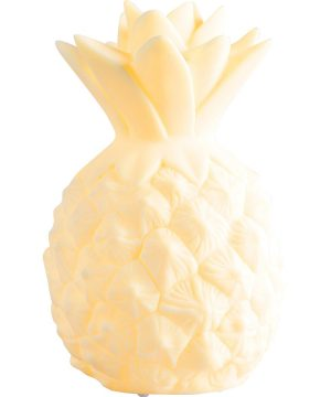 A Little Lovely Company Mini Pineapple Nattlampa Gul One Size